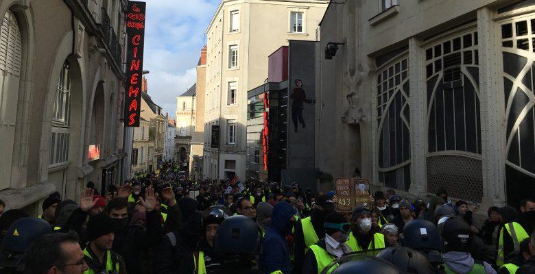 Faut-il craindre l'acte XI des gilets jaunes à Angers ?