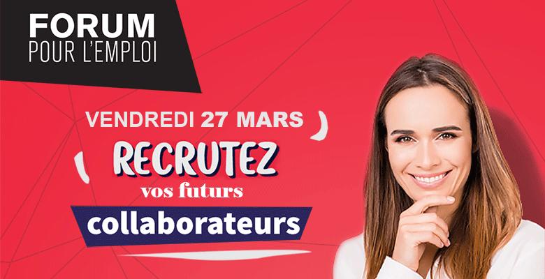 Forum pour l'Emploi à Angers : un appel aux entreprises